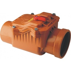 Клапан обратный для канализационных труб 630 мм