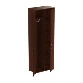 Шкаф для одежды AMF Магистр МГ-931 806х420х1844 мм орех темный