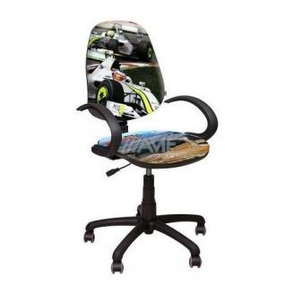 Крісло дитяче AMF Поло 50 / АМФ-5 Гонки 670х670х1145 мм