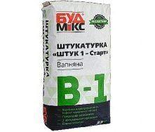 Шпаклівка вапняна Будмікс В-1 Штук 1-Старт 23 кг