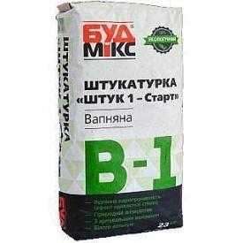 Шпаклевка известковая БудМикс В-1 Штук 1-Старт 23 кг