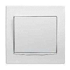 Кнопка Schneider Electric Anya AYA0800221 81,5х81,5х42 мм белый