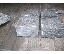 Бруківка гранітна лабрадорит пилено-колота 10х10х5 см