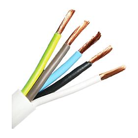 Провод для электроприборов ПВС ЗЗЦМ 5х1