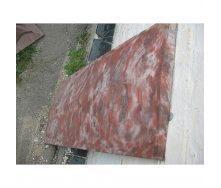 Крышка на забор 1000х350х50 мм коричневое