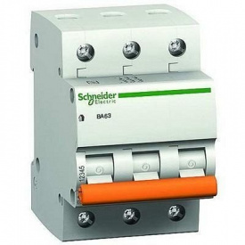 Выключатель автоматический Schneider Electric BA63 3Р 63 A