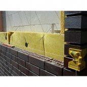 Кладка зовнішніх стін з цегли з утеплювачем і облицюванням