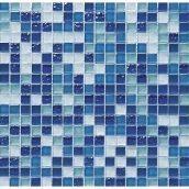 Мозаика мрамор стекло VIVACER 1,5х1,5 DAF6 30х30 cм