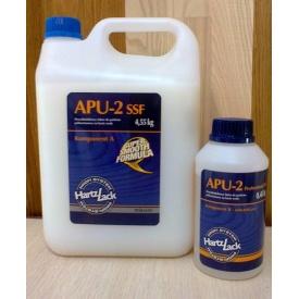 Полиуретановый лак для паркета HartzLack APU-2 SSFormula глянец полумат 5 кг