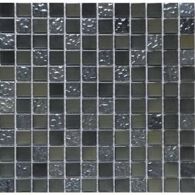 Мозаика мрамор стекло VIVACER 2х2 Di005 30х30 cм