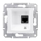 Розетка компьютерная Schneider Electric Sedna SDN4700121 RJ45 кат.6е UTP белый