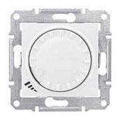 Светорегулятор Schneider Electric Sedna SDN2200821 поворотно-нажимной универсальный белый