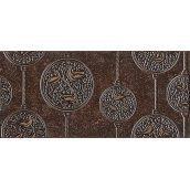 Декор Inter Cerama NOBILIS 23x50 см коричневый