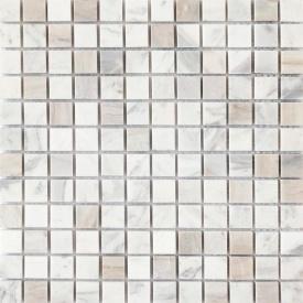 Мозаика мраморная VIVACER SPT 017 2,3х2,3 cм 30х30 cм