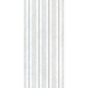 Керамическая плитка Inter Cerama ELEGANCE для стен 23x50 см серый светлый люстр
