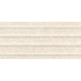 Керамічна плитка Inter Cerama OASIS для стін рельєфна 23x50 см бежевий світлий
