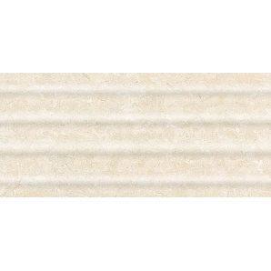 Керамическая плитка Inter Cerama OASIS для стен рельефная 23x50 см бежевый светлый