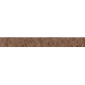 Плитка Opoczno Dry River brown skirting 7,2x59,4 см