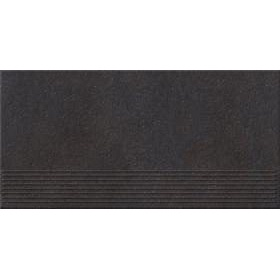 Плитка Opoczno Dry River graphite steptread 29,55x59,4 см