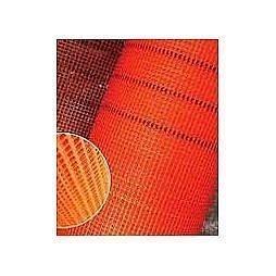 Сетка фасадная антищелочная 50 м оранжевая