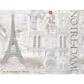 Декор-панно Inter Cerama CEMENTIC 46x60 см серый