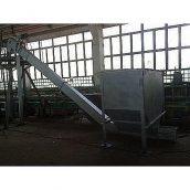 Скребковий система автоматизованої подачі палива 500-2000 кВт