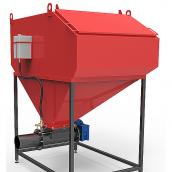 Шнековая система автоматизованої подачі палива Ретра 2000 × 2000 × 2490 мм