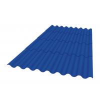 Кровельный материал Керамопласт Каскад 1880x870x5 мм синий