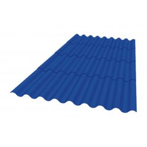 Покрівельний матеріал Керамопласт Каскад 1880x870x5 мм синій