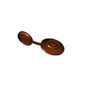 Защитный колпачок Керамопласт 23x4,2 мм коричневый
