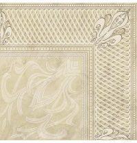 Плитка керамическая BELANI Декор Грация 1 42х42 см палевый