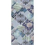 Плитка керамическая BELANI Декор Симфония 25х50 см синий