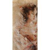 Плитка керамическая BELANI Панно Флоренция 1 50х25 см коричневый