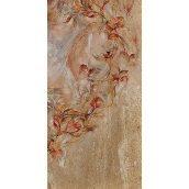 Плитка керамическая BELANI Панно Флоренция 4 50х25 см коричневый