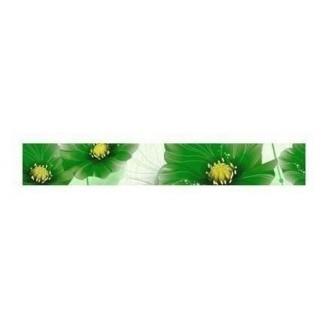 Фриз Golden Tile Маргарита 200х30 мм зеленый (Б84381)