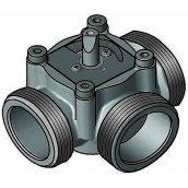 3-х ходовий змішувальний клапан Meibes ЕМ3-20Е-25 DN20 (EM3-20Е-25)