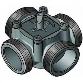 4-х ходовой смесительный клапан Meibes ЕМ4-25Е-4 DN25 (ЕМ4-25Е-4)