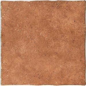 Керамическая плитка Inter Cerama COTTO для пола 43x43 см красно-коричневый