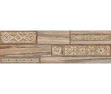 Бордюр Inter Cerama BOSCO 15x50 см коричневий