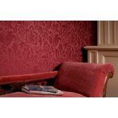 Оклеивание стен текстильными обоями