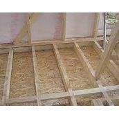 Монтаж плит OSB на дерев'яну підлогу