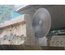 Демонтаж залізобетонних стін стін 14 см