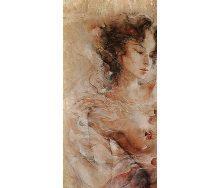 Плитка керамическая BELANI Панно Флоренция 1 50х25 см коричневая