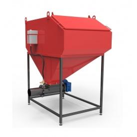 Шнековая система подачи топлива Ретра-3М 100-150 кВт 1,5 м3