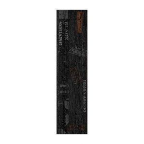Керамическая плитка Golden Tile Sherwood ректификат декоративная 150х600 мм черный (Д6С990)