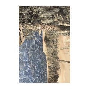 Плитка керамическая Golden Tile Luxor декоративная 200х300 мм голубой (091321)
