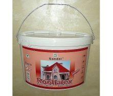 Фарба для шиферу SANDAL Rooflatex 5 кг червона