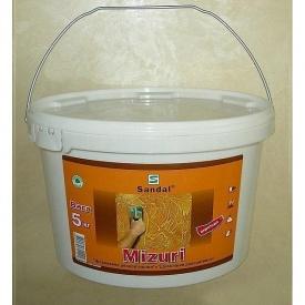 Шпаклевка декоративная с кварцевым наполнителем SANDAL Muzuri 5 кг
