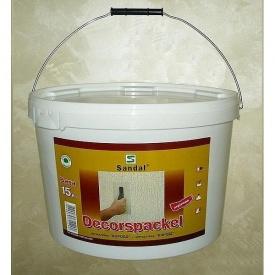 Шпаклевка декоративная SANDAL Decorspackel 15 кг
