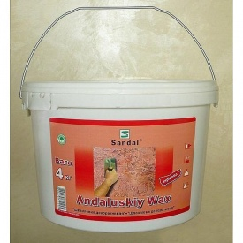 Шпаклевка декоративная SANDAL Andaluskiy Wax 1 кг